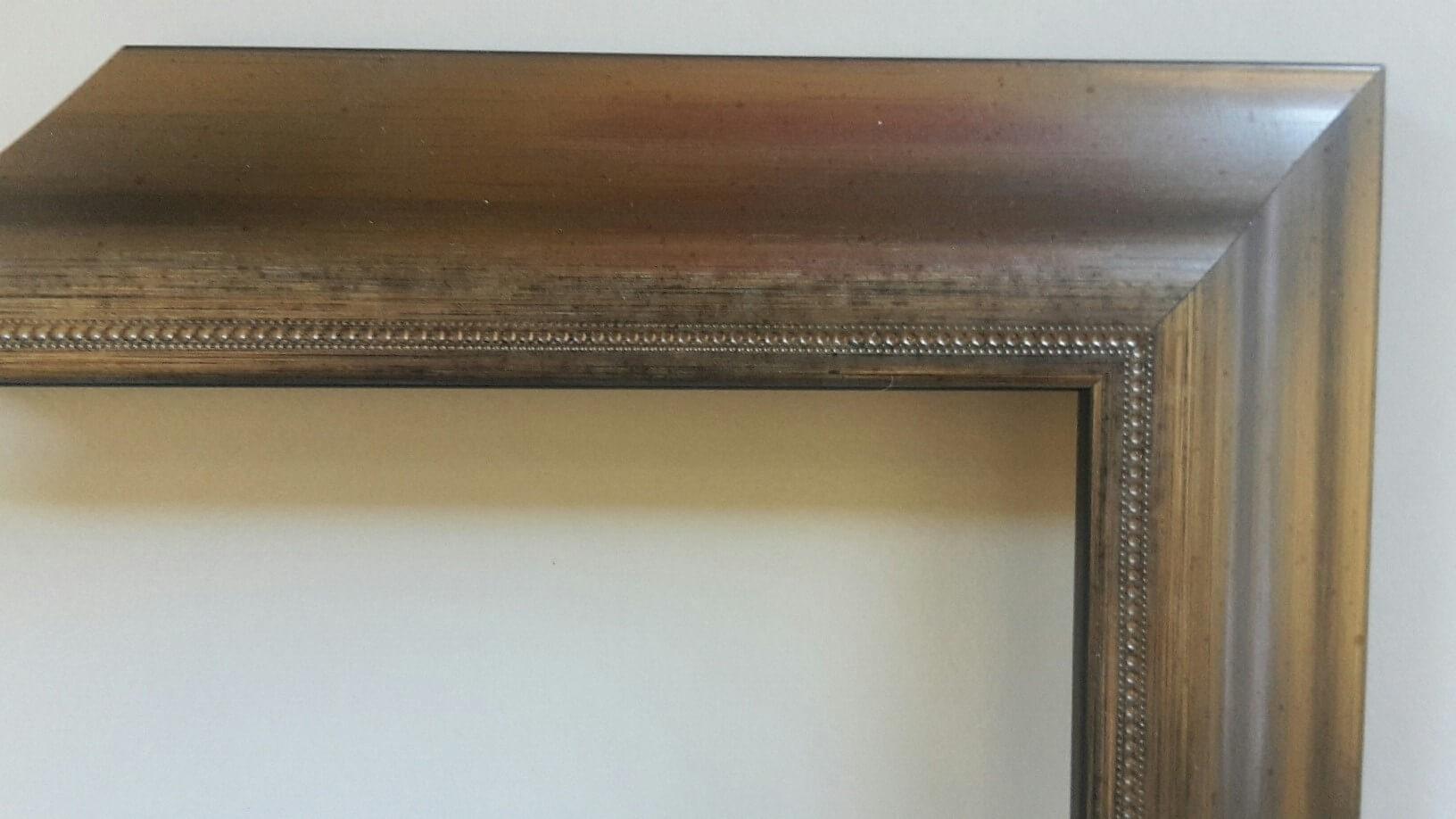 Fabira Bayonne Grau auf Schwarz, Zierkante, Rücken Schwarz ca. 40mm × 20mm