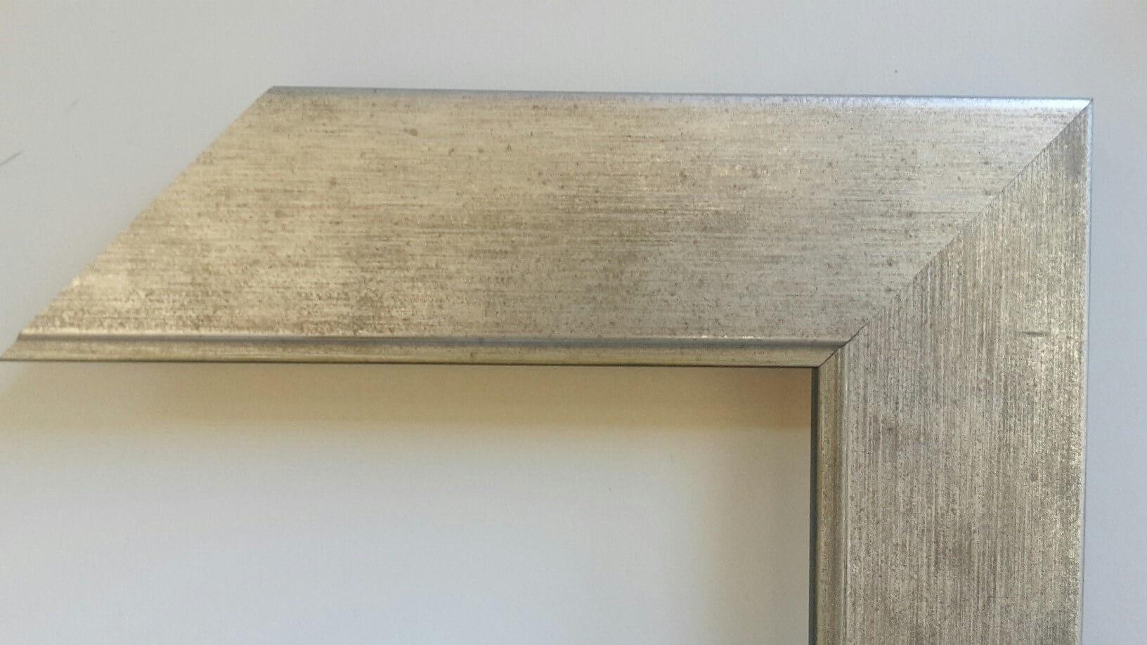 Fabira Salamanca Silber Matt durchgerieben, ca. 50mm × 20mm