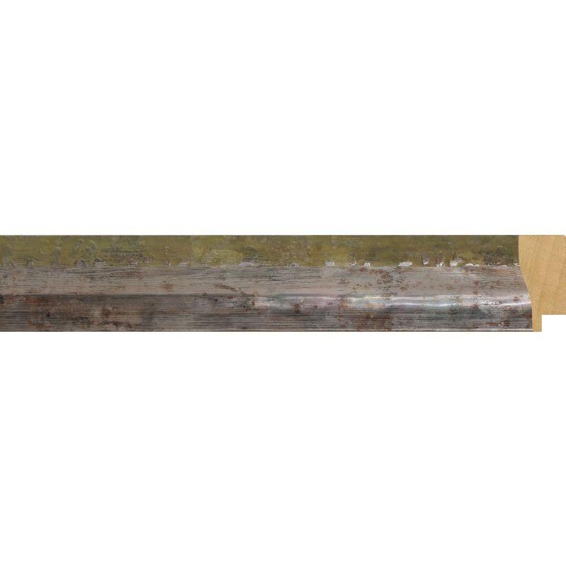 Fabira Bause Nevis Grün-Silber ca.40mm 6520-03