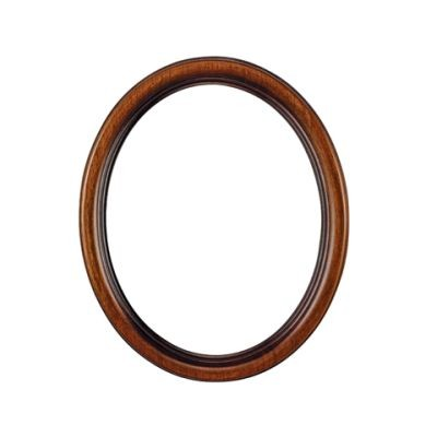 Eurolijsten Ovale Rahmen Nussbaum 7115060
