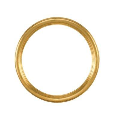Eurolijsten Runde Rahmen Gold 73111