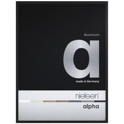 Nielsen Alpha Eloxal Schwarz Matt 1611250