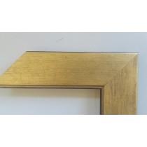 Fabira Salamanca Gold Matt durchgerieben, ca. 50mm × 20mm