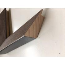 Fabira Magellan Wood II Walnuss, Rü.&Lichtkante Schwarz ca. 40mm