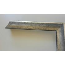 Fabira Biarritz I Antiksilber Matt, Rücken Schwarz ca. 20mm × 29mm