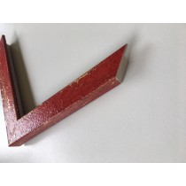 Fabira Mazzola I Rot, Gold (Handarbeit) ca. 25mm 449C03