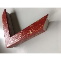 Fabira Mazzola II Rot, Gold (Handarbeit) ca. 30mm 582C03