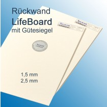Aicham Larson-Juhl LifeBoard, Säurefrei (DIN ISO 9706) Weiß/Weiß 168-15064