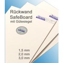Aicham Larson-Juhl SafeBoard, Säurefrei kaschiert, Kern gepuffert Weiß/Weiß 168-01564