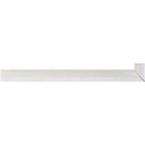 Fabira Evoque Weiß Kante und Rü Weiß ca. 15mm 145001