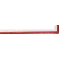 Fabira Evoque Rot Kante und Rü Weiß ca. 15mm 145005