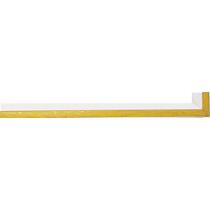 Fabira Evoque Gelb Kante und Rü Weiß ca. 15mm 145007