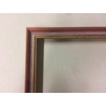 Aura Rot m.Gold ca.15mm 1151(3014-7140)