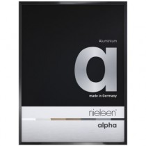 Nielsen Alpha Eloxal Schwarz Glanz 1624016