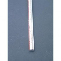 Wohlleb Schlipsleiste Silber handmetallisiert S16/250