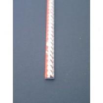 Wohlleb Schlipsleiste Antiksilber Kordelverzierung S19/518