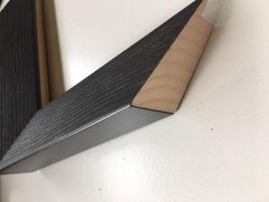 Fabira Magellan Wood II Dunkelbraun, Rü.&Lichtkante Schwarz ca. 40mm