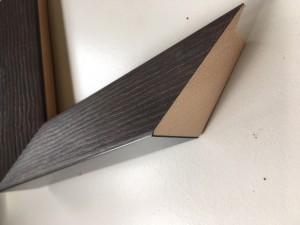 Fabira Magellan Wood II Wenge, Rü.&Lichtkante Schwarz ca. 40mm