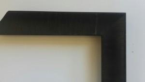 Fabira Tuco Wurzelfurnier Schwarz, Rücken Schwarz ca. 30mm × 23mm