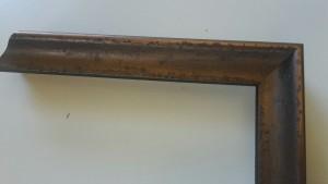 Fabira Biarritz I Antikbronze Matt, Rücken Schwarz ca. 20mm × 29mm
