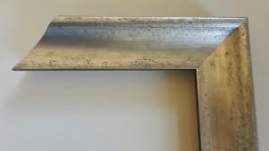 Fabira Biarritz II Antiksilber Matt, Rücken Schwarz ca. 40mm × 35mm