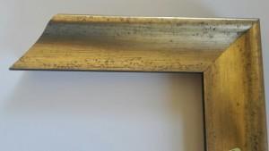 Fabira Biarritz II Antikgold Matt, Rücken Schwarz ca. 40mm × 35mm