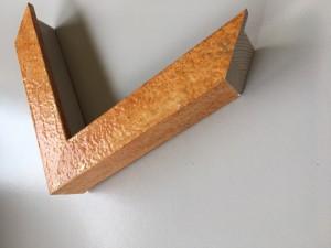 Fabira Mazzola II Orange, Gold (Handarbeit) ca. 30mm 06-20 582C09