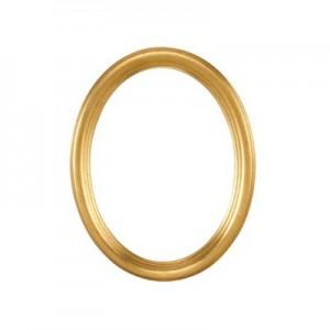 Eurolijsten Ovale Rahmen Gold 7312028