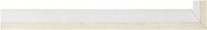 Fabira Evoque Beige Kante und Rü Weiß ca. 15mm 145003