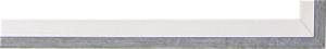 Fabira Evoque Grau Kante und Rü Weiß ca. 15mm 145004
