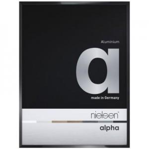 Nielsen Alpha Eloxal Schwarz Glanz 1611016